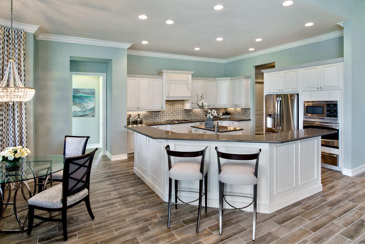 Pizzazz Interiors - Twin Eagles Muirfield Model - Naples, FL