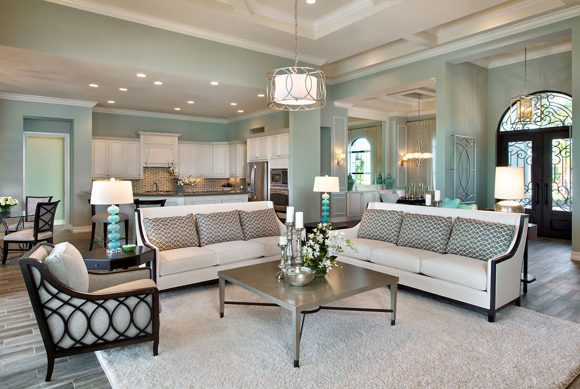 Pizzazz Interiors - Twin Eagles Muirfield Model - Naples, FL