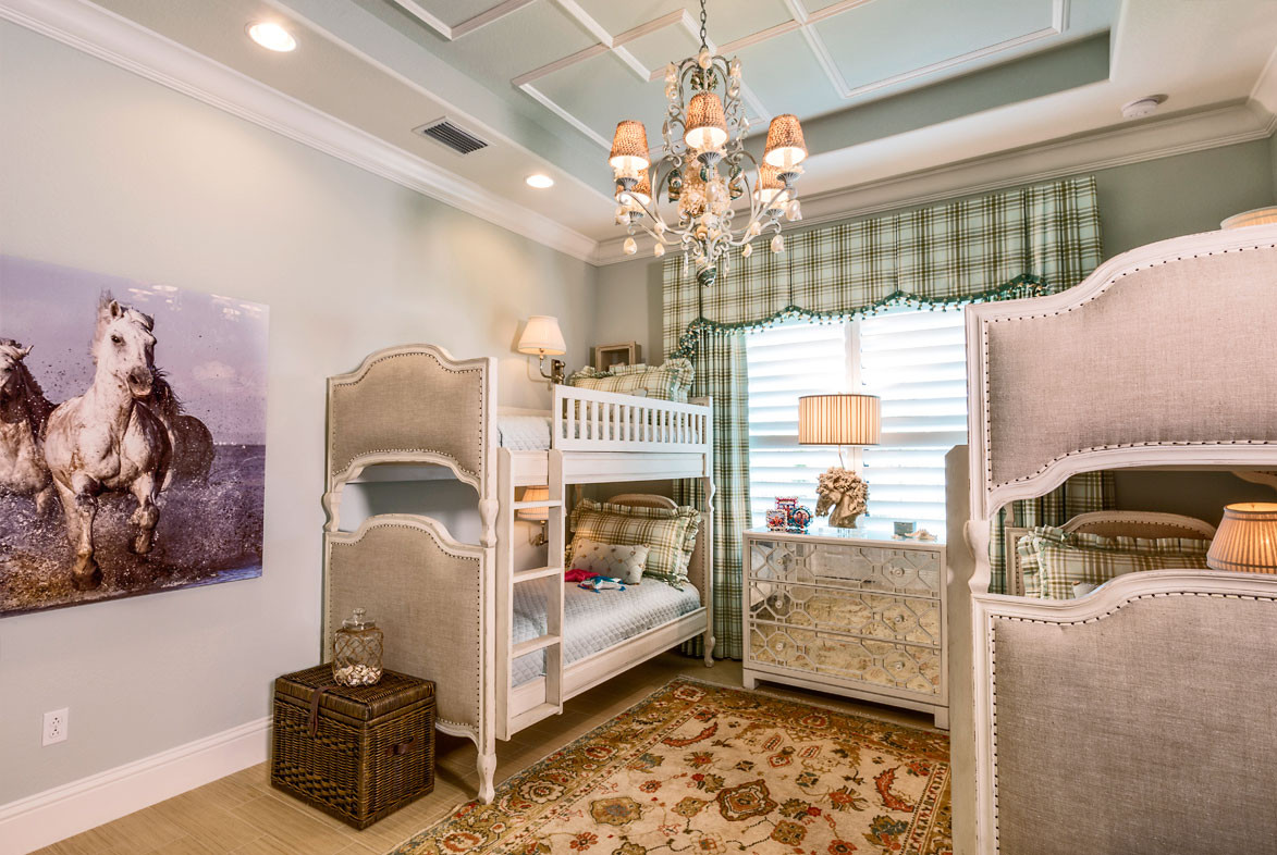 Pizzazz Interiors - Prefontaine Private Residence - Naples, FL
