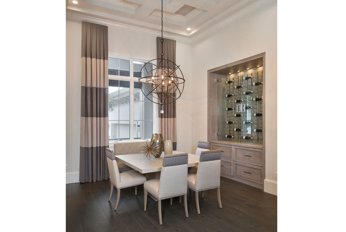 Clairborne Dining Room - Pizzazz Interiors - Naples, FL