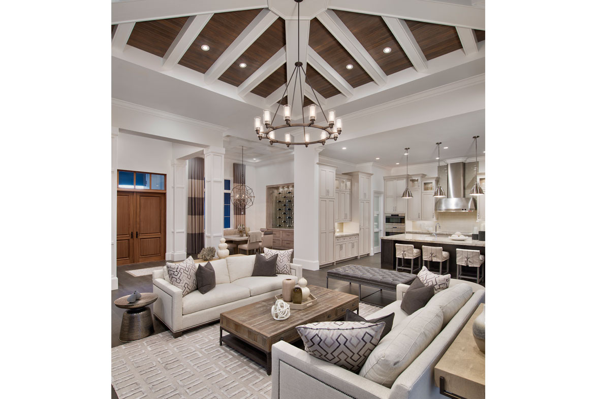 Clairborne Living Room 2 - Pizzazz Interiors - Naples, FL